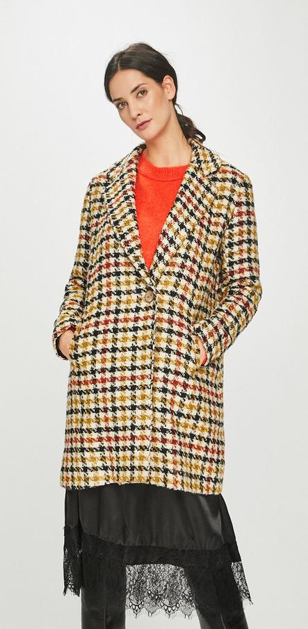 Płaszcz Answear z bawełny w stylu casual