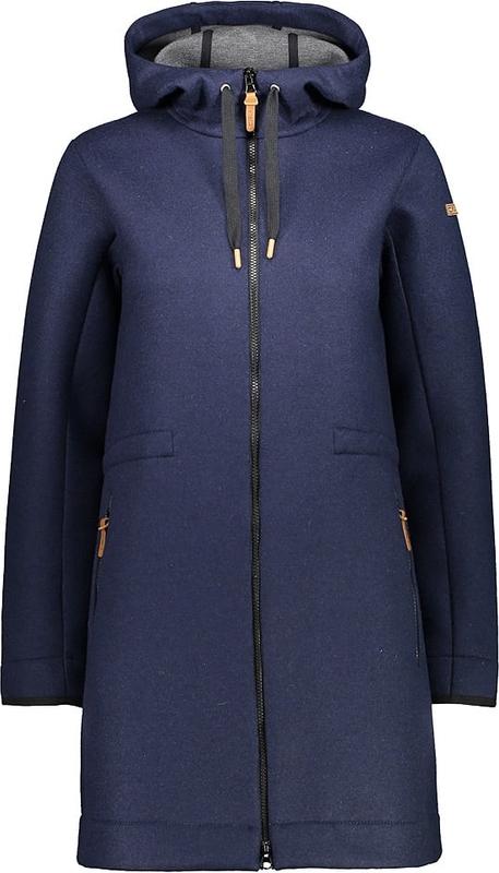 Płaszcz CMP w stylu casual z wełny