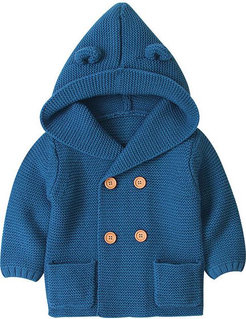 Płaszcz dziecięcy Elegrina z bawełny dla chłopców