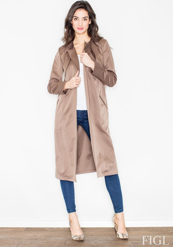 Płaszcz Figl w stylu casual
