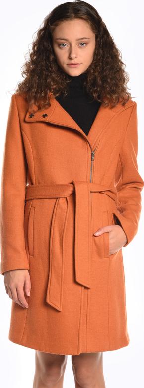 Płaszcz Gate z wełny w stylu casual