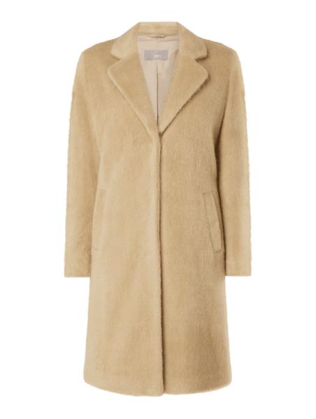 Płaszcz Jake*s Collection w stylu casual z wełny