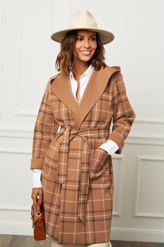 Płaszcz Le Comptoir Du Manteau z wełny