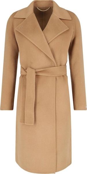 Płaszcz Marella w stylu casual z wełny