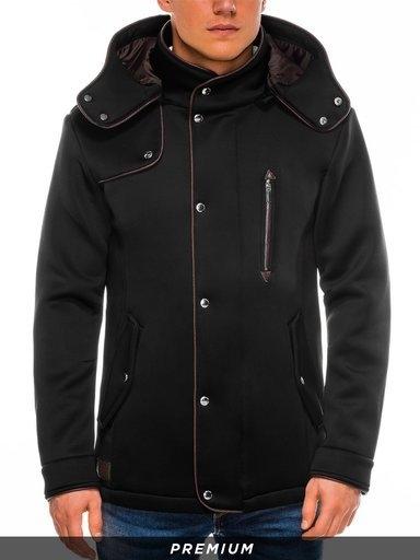 Płaszcz męski Ombre w młodzieżowym stylu