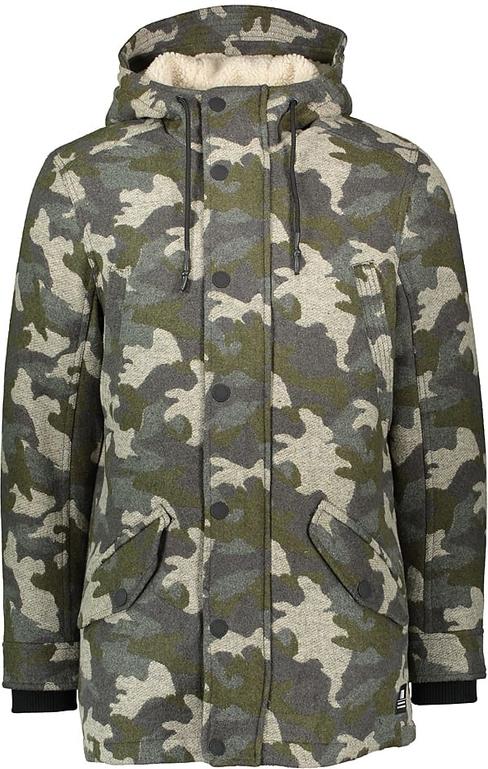 Płaszcz męski Tom Tailor w militarnym stylu