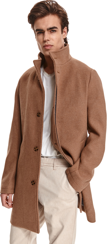 Płaszcz męski Top Secret z tkaniny