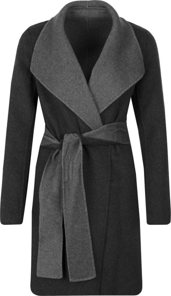 Płaszcz Michael Kors w stylu casual z wełny