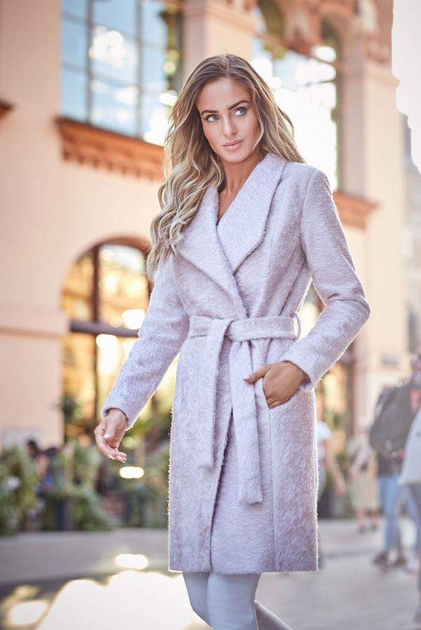 Płaszcz MOE z tkaniny