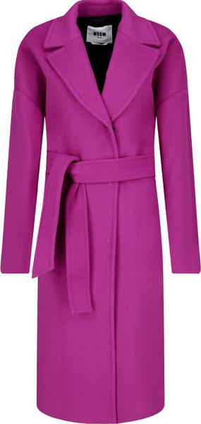 Płaszcz MSGM z wełny w stylu casual