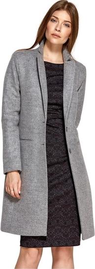 Płaszcz Nife w stylu casual z wełny