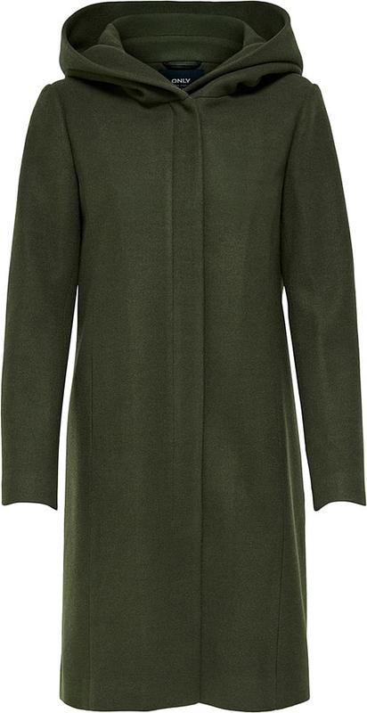 Płaszcz Only z wełny w stylu casual