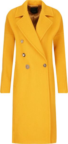 Płaszcz Pinko z wełny w stylu casual