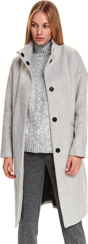 Płaszcz Top Secret w stylu casual z wełny