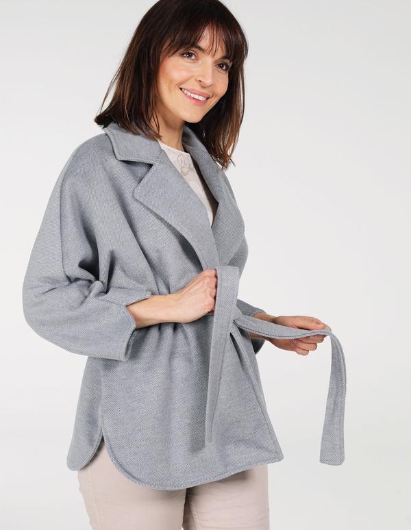 Płaszcz Unisono w stylu casual