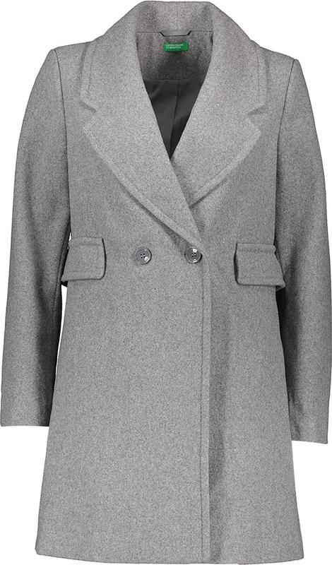 Płaszcz United Colors Of Benetton z wełny w stylu casual