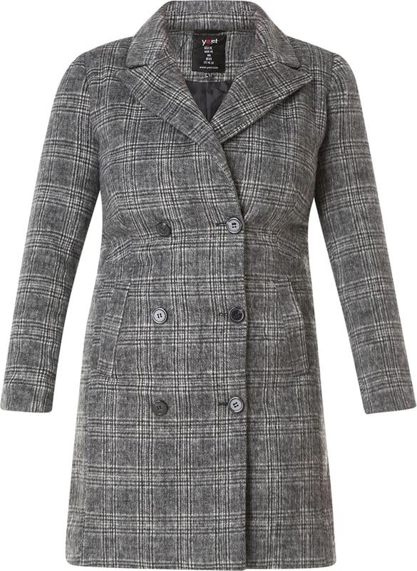 Płaszcz Yesta z wełny w stylu casual