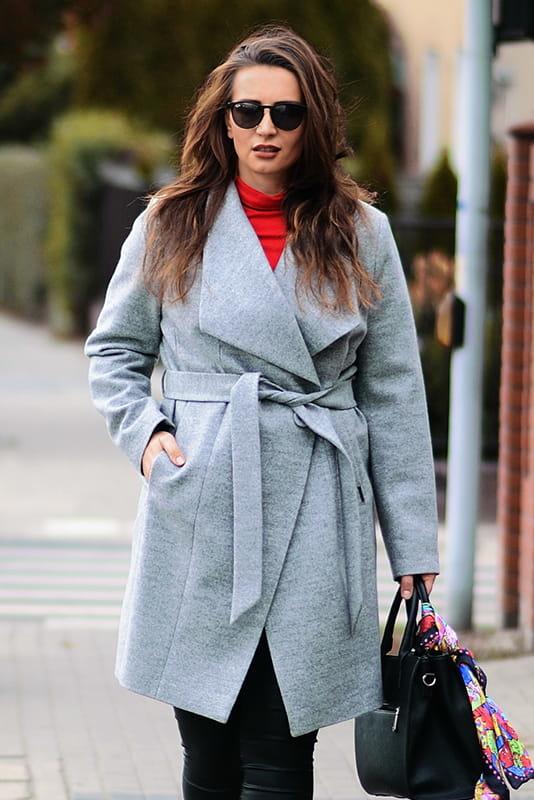 Płaszcz Zaps Collection w stylu casual