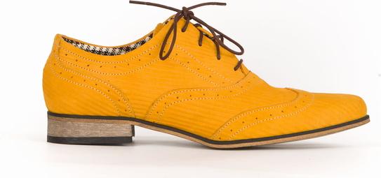 Półbuty Zapato w stylu retro