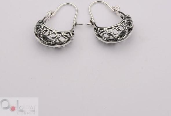 Polcarat Design Kolczyki srebrne K 1093