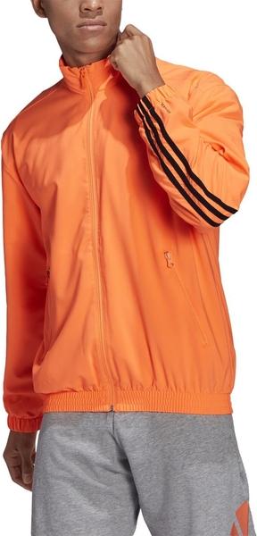 Pomarańczowa bluza Adidas w sportowym stylu