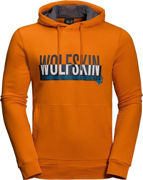 Pomarańczowa bluza Autoryzowany Sklep Jack Wolfskin w młodzieżowym stylu