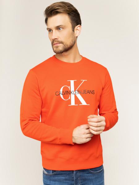 Pomarańczowa bluza Calvin Klein
