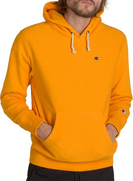 Pomarańczowa bluza Champion w sportowym stylu