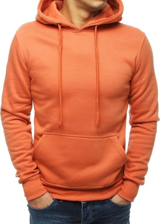 Pomarańczowa bluza Dstreet z bawełny