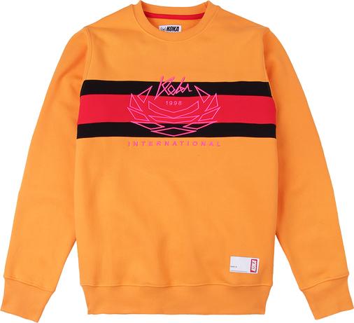 Pomarańczowa bluza KOKA z bawełny