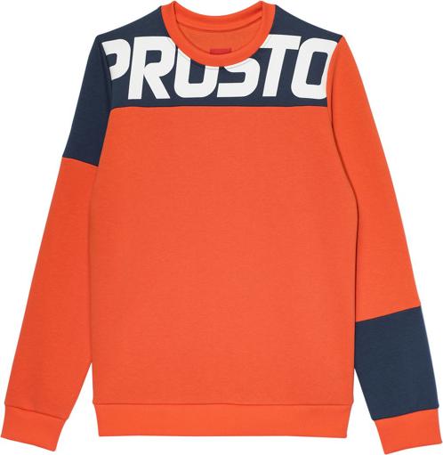 Pomarańczowa bluza Prosto.