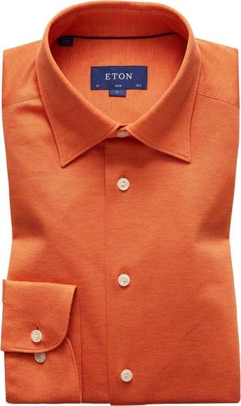 Pomarańczowa koszula Eton