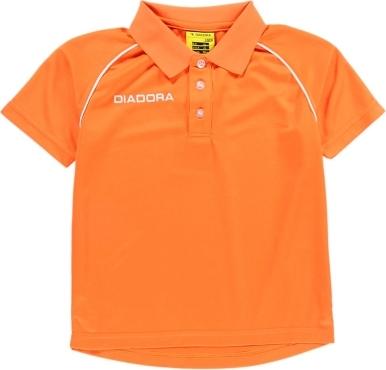 Pomarańczowa koszulka dziecięca Diadora