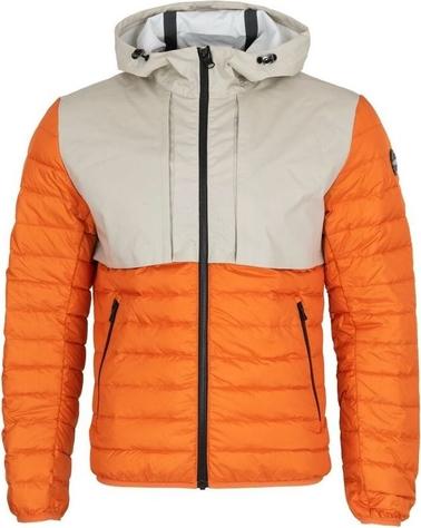Pomarańczowa kurtka Colmar krótka w stylu casual