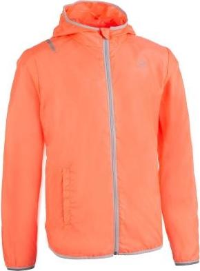 Pomarańczowa kurtka dziecięca Kalenji