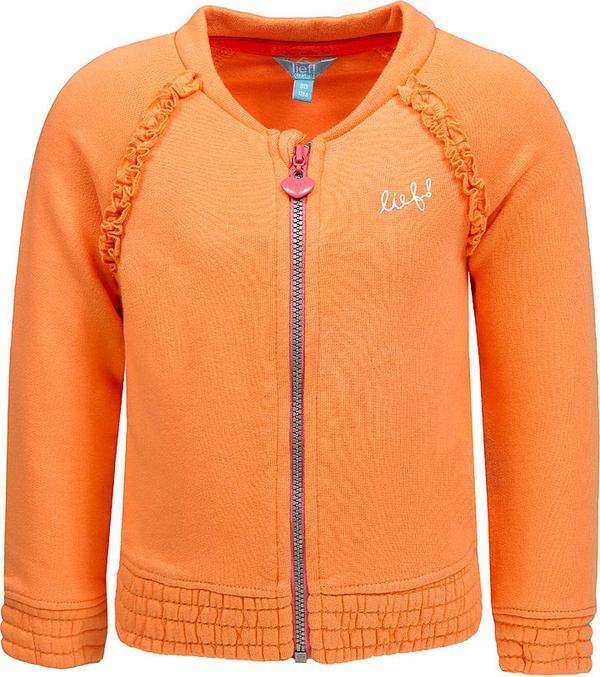 Pomarańczowa kurtka dziecięca Lief