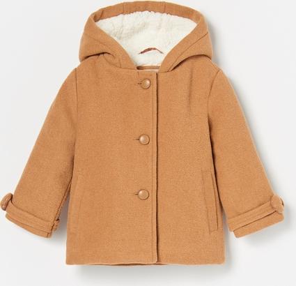 Pomarańczowa kurtka dziecięca Reserved dla dziewczynek