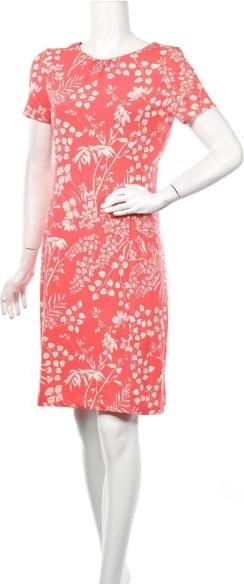 Pomarańczowa sukienka Cortefiel