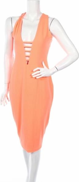 Pomarańczowa sukienka Hedonia