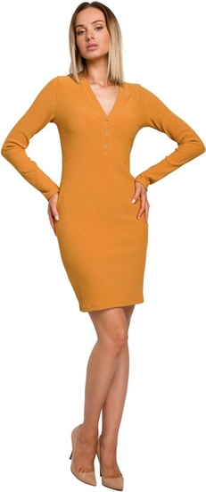 Pomarańczowa sukienka MOE mini
