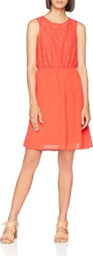 Pomarańczowa sukienka Vero Moda
