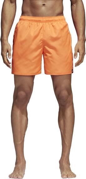 Pomarańczowe kąpielówki Adidas
