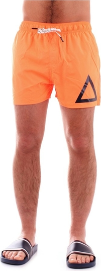 Pomarańczowe kąpielówki Sun 68