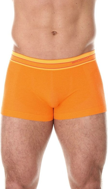 Pomarańczowe majtki Brubeck z wełny