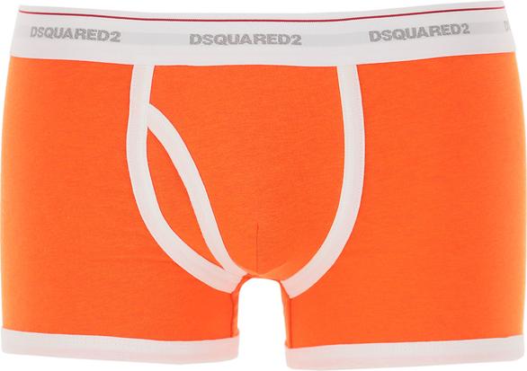 Pomarańczowe majtki Dsquared2