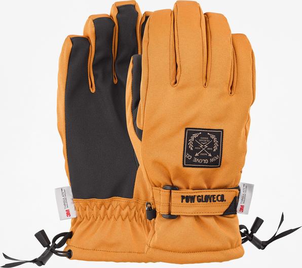 Pomarańczowe rękawiczki Pow