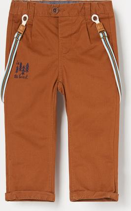Pomarańczowe spodnie dziecięce Reserved dla chłopców