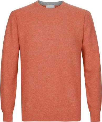 Pomarańczowy sweter PROFUOMO