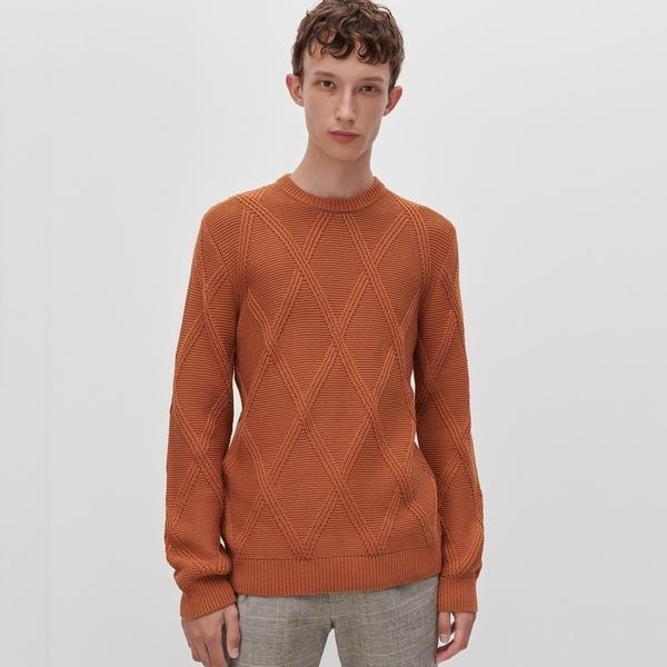 Pomarańczowy sweter Reserved