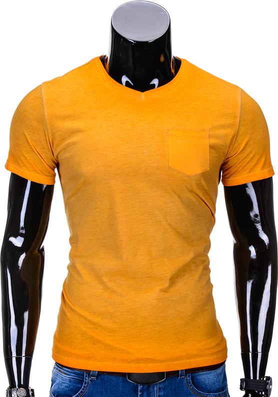 Pomarańczowy t-shirt edoti